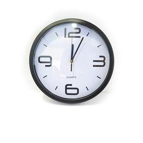 Reloj De Pared Redondo Para Oficina. Diámetro Aprox. 30 Cm