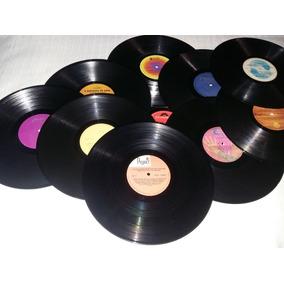 40 Discos De Vinil Lp Vinil Decoração Festa Anos 80.sem Capa