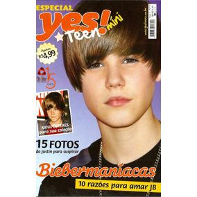 Revista Especial Justin Bieber - 15 Posters E 35 Adesivos