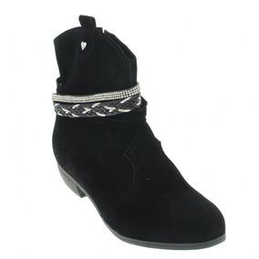 174a1d962c4 Bota Moleca Tiras Marrom - Sapatos no Mercado Livre Brasil