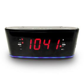Radio Reloj Despertador Misik Mr442 Bluetooth, Usb Y Fm
