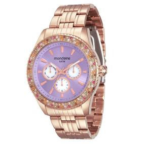 65fd4af77906c Relogio Feminino Rose Bahia - Relógios De Pulso no Mercado Livre Brasil