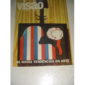 Revista Visão 15 Arte Tenden Marília Pêra Nara Vinicius 1967