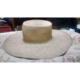 Sombrero Pajilla Toquilla Antiguo Panama Lagomarsino Ala 12 b46131ce8a5