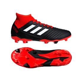 d64be86da0825 Adidas Predator Negro Y Rojo Tacos - Tacos y Tenis Césped natural de ...