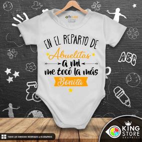 Bodys De Bebe Personalizados / Linea Mis Abuelitos!