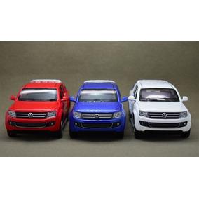 Miniatura Amarok Caminhoneta Volkswagen Em Metal 1:32
