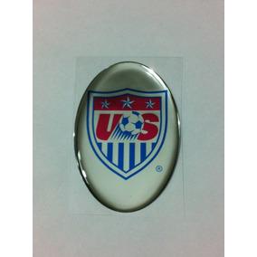 55720a8f15 Adesivo Resinado Do Escudo Da Seleção Dos Eua Usa De Futebol. R  19 58