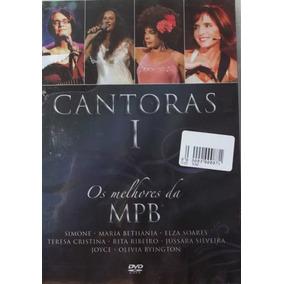 Dvd O Melhor Da Mpb - Cantoras I - Novo