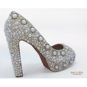 36001d946 Peep Toe Debutante - Sapatos no Mercado Livre Brasil