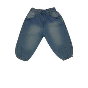 Calça Feminina Baby Com Bolso Frontal Jeans Puc