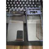 Capa Original Galaxy Note 8 + Capa Com Borda Azul - Usadas