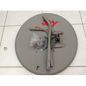 2 Antenas Ku 60cm+ 2 Lnb Duplo+ 2kit Cabo
