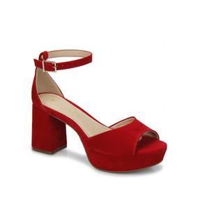 8e0dfc83b Sapatos Passarela Arezzo - Sandálias para Feminino Vermelho no ...