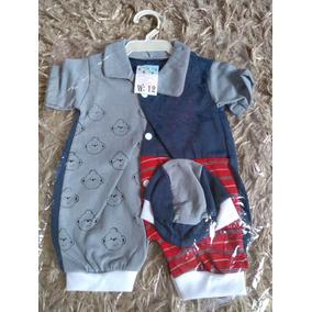 Macacão Paraíso Baby Com Boné - Bebês no Mercado Livre Brasil 134617c506d