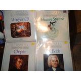 Discos Lp Nuevos Sellados Wagner Straus Chopin C/u