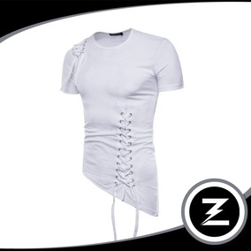 Camiseta Malha Slim Cm035 Longline Camisa