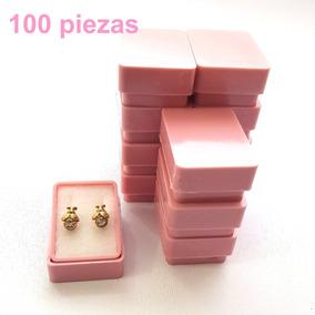 100 Cajas Plástica Para Broqueles 823b