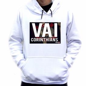 50b18f35da Blusa De Frio Do Corinthians - Moletom Masculinas Branco no Mercado ...