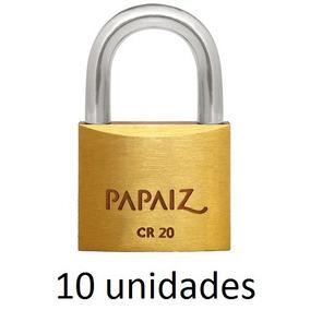 711f6c513dec6 Kit 10 Cadeados Mesma Chave - Segurança para Casa no Mercado Livre ...