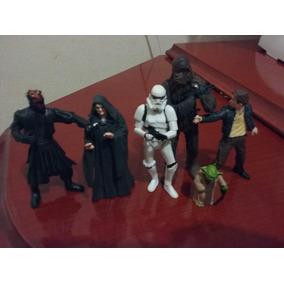 Bonecos Star Wars 6 Peças Novos.