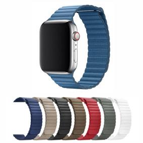 a286c944f89 Pulseira De Couro Apple Watch - Relógios no Mercado Livre Brasil