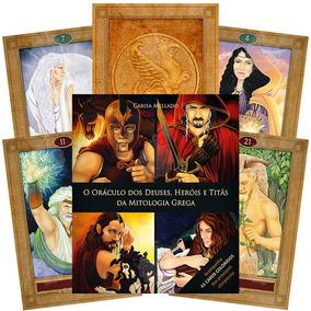 O Oráculo Dos Deuses Heróis E Titãs Da Mitologia - 45 Cartas
