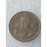 Lote Monedas Colombia 1 Peso 1974 1975 1977 1979