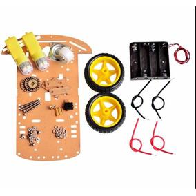 Kit Chassi 2wd Robô Arduino