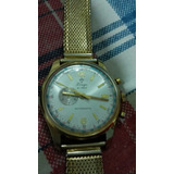 Reloj Antiguo Marca Lings 21 Prix Bañado En Oro Años 50