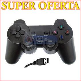 Control Joypad Usb Para Pc Con Dualshock Computador O Laptop