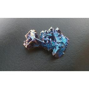 Cristal De Bismuto De Colección 65g C/u Piedra Metal Exótico