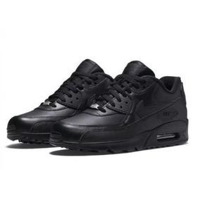 7ccb940b007 Tenis Nike Air Max 90 Laranja E Preto - Calçados