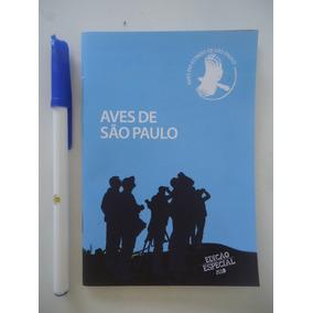Livreto Aves De São Paulo Edição Especial 2018