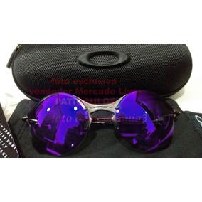 ed6c50eac Oculos Redondo Espelhado Roxo De Sol Oakley - Óculos no Mercado ...