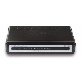 D-link Fast Ethernet Switch 10/100 (des-1008a) Com Fonte