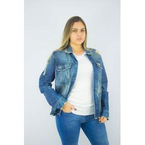 bcfc0ebb6e Jaqueta Jeans Ellus Deluxe Over Paetes Tiger