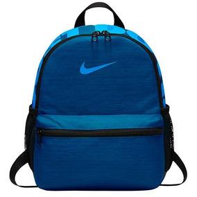 Mochila Nike Nk Brsla Jdi Mini Bkpk Ba5559-431 Azul Dama Oi