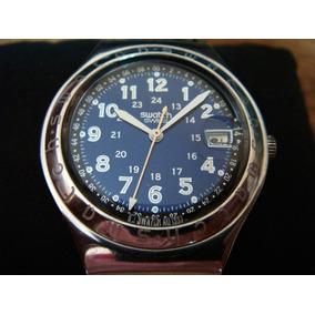 Reloj Swatch Irony Blue Dial. Swiss Made.