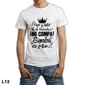 Manga Corta Mujer Sinaloa - Playeras Blanco en Mercado Libre México 10a33c716934e