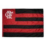 Bandeira Flamengo Tradicional Costurada