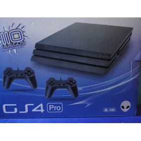 Consola De Video Juego Family Alien 4 Incluye 110 Juegos