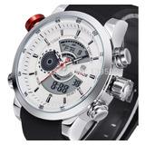 Reloj Weide 3401 Acero Inoxidable Silver White
