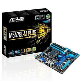 Placa Mãe Asus Am3 Am3+ M5a78l-m Lx Plus/usb3 760g Ddr3