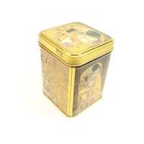 Caja De Aluminio Decorada Con Pinturas De Gustav Klimt