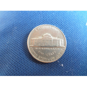Moeda Five Cents United States Of America 1969