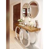 Repisa Diseño Chanel Junto A Su Espejo