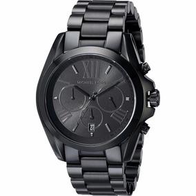 Relogio Michael Kors Feminino Rose Preto Mk5875 - Relógios De Pulso ... 247064a3da