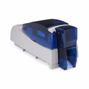 Impressora De Cartões E Crachá Colorida Datacard Sp55 Plus