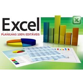Mais De 3.000 Planilhas De Excel 100% Editáveis + Brinde